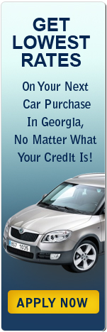 Get Lowest Rates on Your Next Car Purchase in Georgia, No Matter What Your Credit Is!
