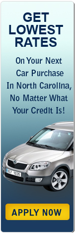 Get Lowest Rates on Your Next Car Purchase in North Carolina, No Matter What Your Credit Is!